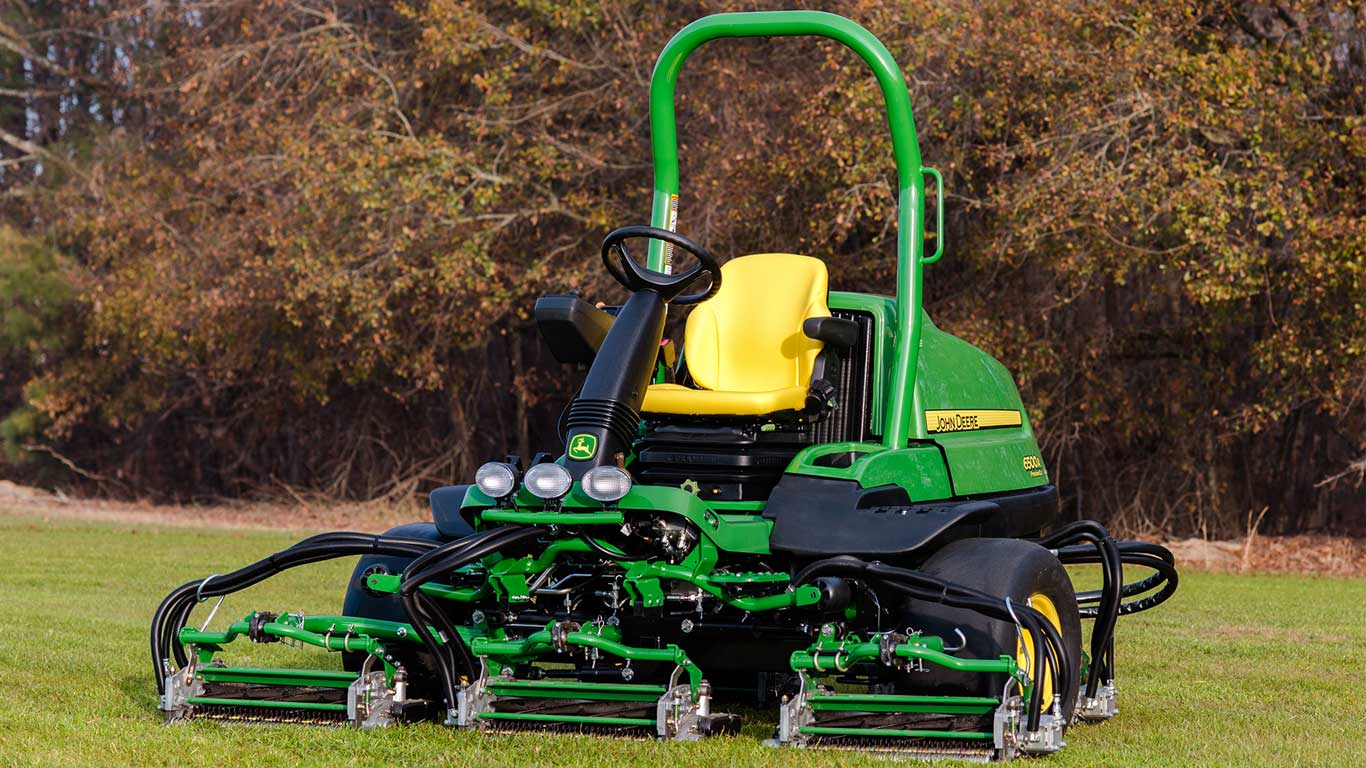 Introducing the 6500A PrecisionCut™ Fairway Mower