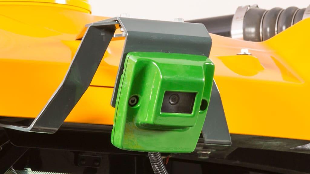 close up to autotrac camera