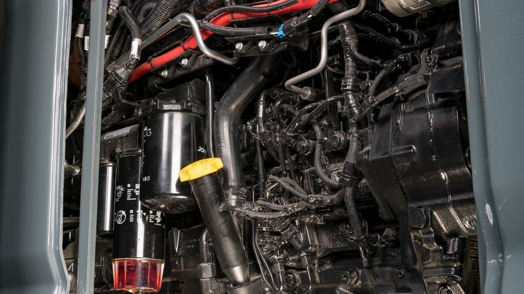 close up of powertech engine